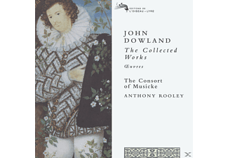 Consort Of Musicke, Anthony Rooley, Consort Of Musicke,The/Rooley,Anthony - Collected Works - (CD)