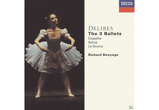 Richard Bonynge, Richard/napo Bonynge - Coppelia/Sylvia/La Source [CD]