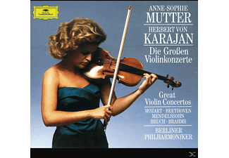 Anne-Sophie Mutter - Die Grossen Violinkonzerte [CD]