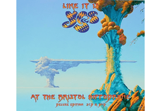 Yes - Like It Is - Yes At The Bristol Hippodrome [CD + DVD]
