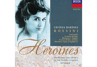 Cecilia Bartoli, Orchestra and Chorus of the Teatro La Fenice - Heroines - (CD)