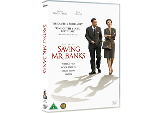 Saving Mr. Banks Dramakomedi DVD