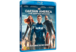 Captain America - The Winter Soldier Action Blu-ray