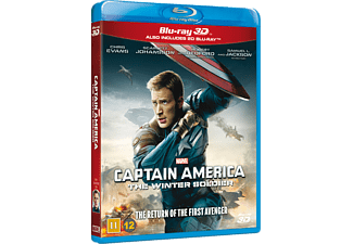 Captain America - The Winter Soldier Action Blu-ray 3D