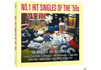 VARIOUS - No.1 Hit Singles Of The 50's - (CD)