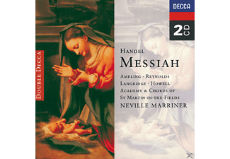 Sir Neville Marriner, Ameling/Reynolds/Marriner/AMF - Der Messias (Ga) - (CD)