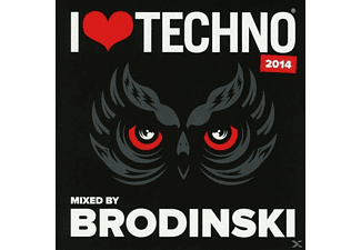 Brodinski - I Love Techno 2014 - (CD)