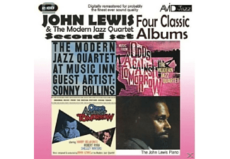 John / Modern Jazz Quartet Lewis - Four Classic Albums Second Set [Box-Set, Doppel-CD] - (CD)
