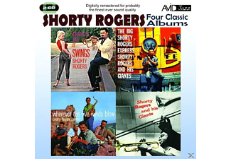 Shorty Rogers - 4 Classic Albums - (CD)