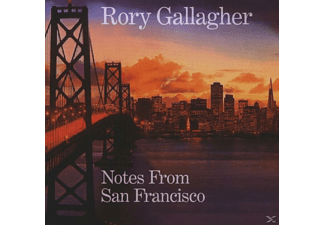 Rory Gallagher - NOTES FROM SAN FRANCISCO - (CD)