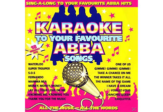 VARIOUS - Karaoke To Your Favourite Abba Songs - (CD)