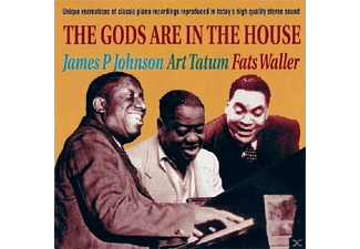 James P. Johnson, Art Tatum, Fats Waller - The Gods Are In The House - (CD)