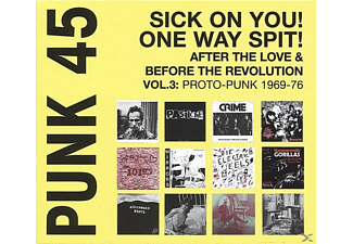 VARIOUS - Punk 45:Sick On You!one Way Spit! - (LP + Download)