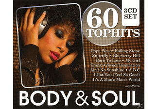 VARIOUS - 60 Top-Hits Body & Soul - (CD)
