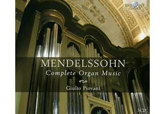 Giulio Piovani - Complete Organ Music - (CD)