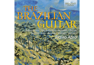 Flavio Apro - The Brazilian Guitar - (CD)