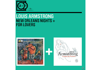 Louis Armstrong - 2 For 1: New Orleans Nights/For Lovers [CD]