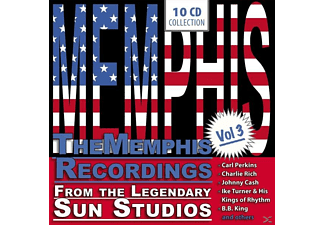 Various/Cash/Perkins/Turner/Rich/King/+ - The Memphis Recordings Vol.3 - (CD)
