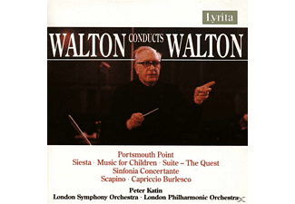 LONDON SYMPH. & PHILH. ORCH. / WALT - Portsmouth Point Overture/Siest - (CD)