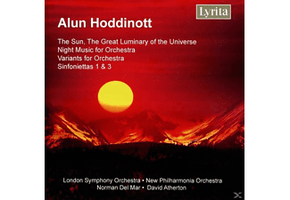 New Philharm London Symphony Orch. - The Sun/Night Music for Orchest - (CD)