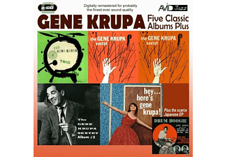 Gene Krupa - 5 Classic Albums Plus - (CD)