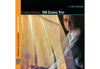Bill Evans, Bill Trio Evans - EXPLORATIONS (OJC REMASTERS) [CD]