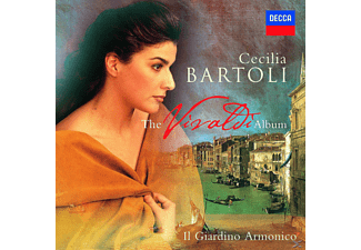 VARIOUS, Cecilia Bartoli - The Vivaldi Album (Jewel Case) [CD]