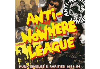 Anti-Nowhere League - Punk Singles 1980-84 - (Vinyl)