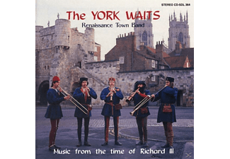 York Waits - Music From The Time Of Richard 3 - (CD)