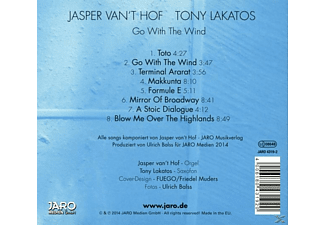 Van't Hof, Jasper/Lakatos, Tony - Go With The Wind [CD]