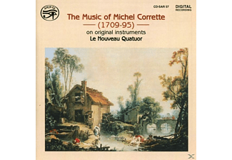 Le Nouveau Quatour - The Music of Michael Corrette - (CD)