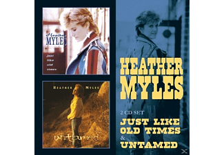 Heather Myles - JUST LIKE OLD TIMES/UNTAMED - (CD)