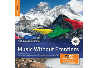 VARIOUS / NAMGYAL LHAMO - Rough Guide: Music Without Frontiers - (CD + Bonus-CD)