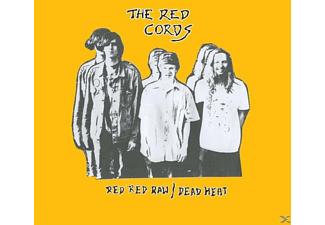 The Red Cords - Red Red Raw/Dead Heat - (CD)