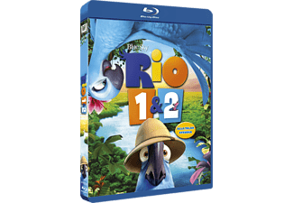 Rio 1 + 2 Animation / Tecknat Blu-ray