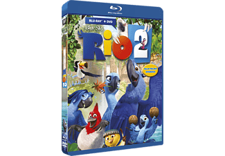 Rio 2 Animation / Tecknat Blu-ray