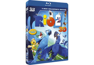 Rio 2 Animation / Tecknat Blu-ray 3D