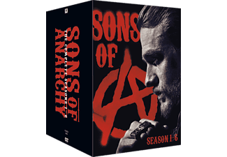 Sons of Anarchy S1-6 Box Action DVD