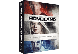 Homeland S1-3 Thriller Blu-ray