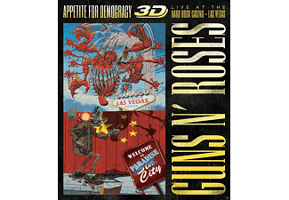 Guns N' Roses - Appetite For Democracy 3d: Live - (Blu-ray)