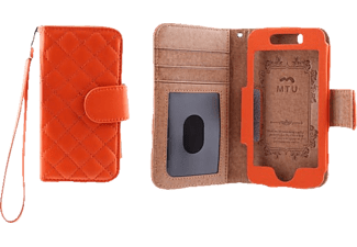 MTU Folio Quilted iPhone 5C - Orange