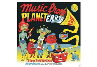 Various - Music From Planet Earth 02 - (Vinyl)