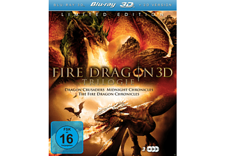 Fire Dragon 3D Trilogie - Limited Fantasy Edition [3D Blu-ray]