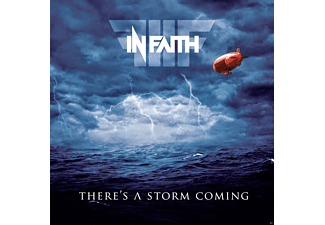 In Faith - There's A Storm Coming - (CD)