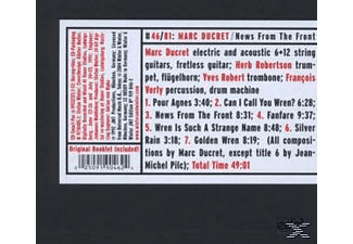 Marc Ducret - News From The Front - (CD)