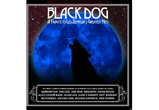 VARIOUS - Black Dog - (CD)