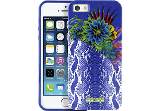JUST CAVALLI CAV-095153 Backcover Apple iPhone 5, iPhone 5s Thermoplastisches Polyurethan Violett/Python