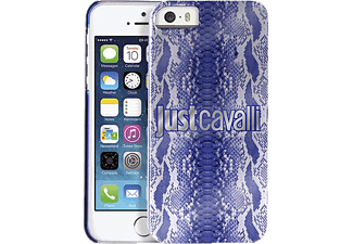 JUST CAVALLI CAV-095184, Backcover, iPhone 5, iPhone 5s, Blau/Python