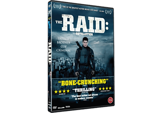 The Raid 2 - Retaliation Action DVD