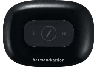 HARMAN KARDON Omni Adapt, Drahtloser HD-Audioadapter, Schwarz